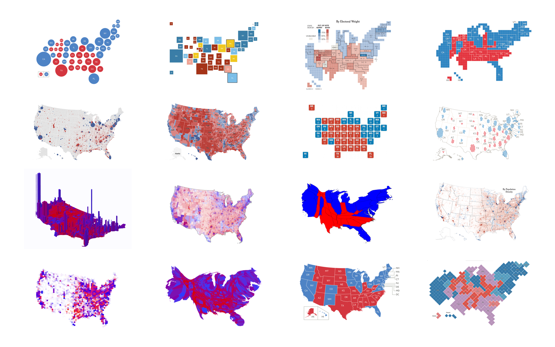 Instead Of Asking How Do We Want To Display The Electoral Votes We Should First Ask What Do We Want To Map